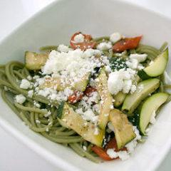 Bucatini zucchine e ricotta