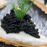 |⇨ Crackers con il Burro al Caviale