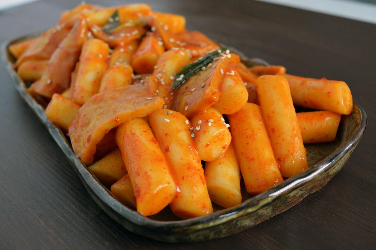 Gnocchi di riso coreani