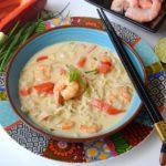 |⇨ Zuppa di gamberi thailandese