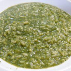 Zuppa Verde al Formaggio