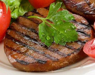 Seitan marinato alla griglia