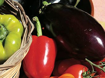 Verdure grigliate saporite
