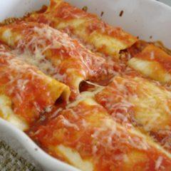 Cannelloni con ricotta
