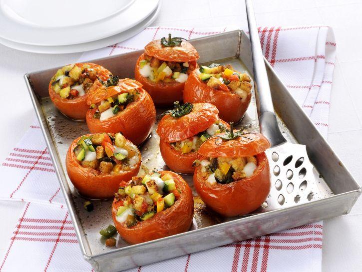 Scodelline di Pomodoro con Verdure