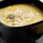  ⇨ Zuppa d'orzo con verdure e prosciutto affumicato