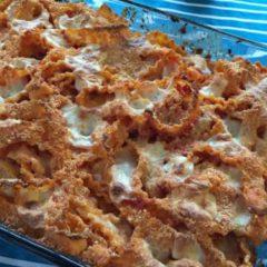 Pasta al forno con la mozzarella