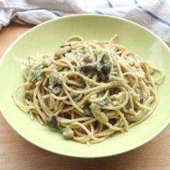 Spaghetti alle Uova e Melanzane