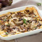 |⇨ Lasagne ai carciofi e funghi