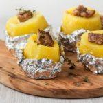 |⇨ Patate con salsiccia al cartoccio