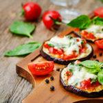 |⇨ Pizzette di melanzane