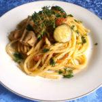 |⇨ Spaghetti con Pesce e Zucchine